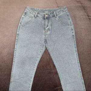 Denim - Mid Waist Jeans